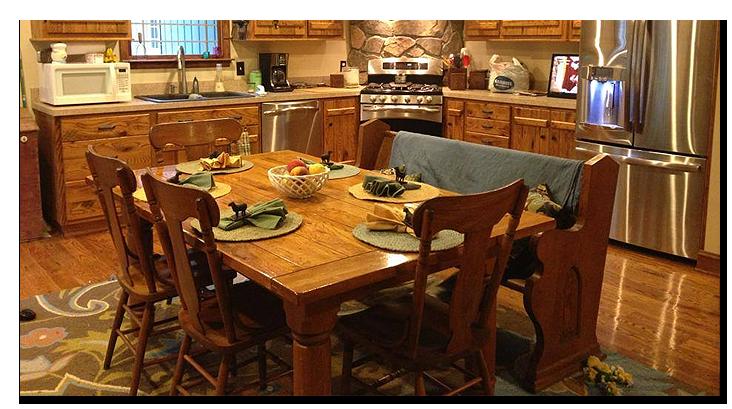 Dining Room Furniture - Capon Bridge, WV - Bent River Wood Works