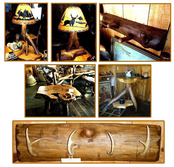 Wood Accent Pieces - Capon Bridge, WV - Bent River Wood Works
