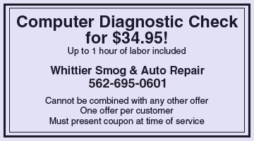 Whittier, CA - Whittier Smog & Auto Repair - Tires
