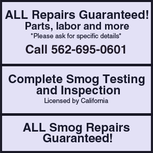 Oil Changes - Whittier, CA - Whittier Smog & Auto Repair
