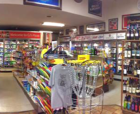 Inside of the store