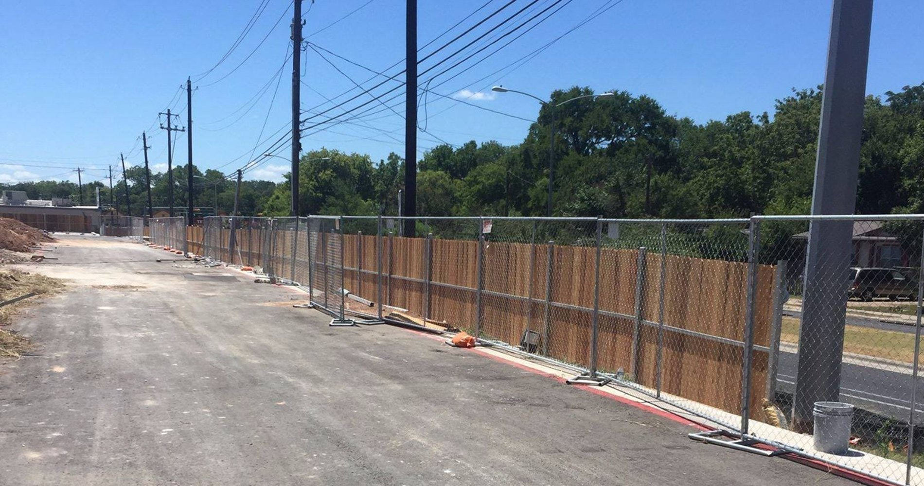San Antonio Rent Fence | Temporary & Construction Fence