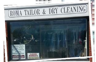 Roma Custom Tailoring shop