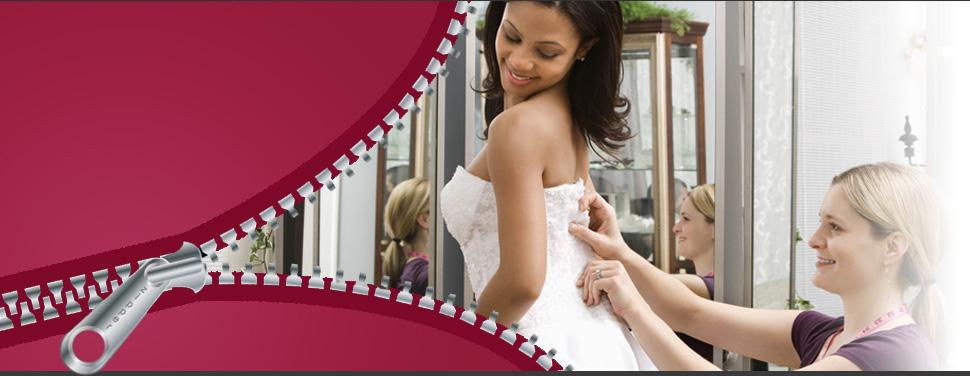 Wedding gown repair