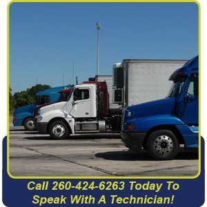 Truck Repair - Fort Wayne, IN - Fort Wayne Spring Service - truck - Call 260-424-6263 Today To Speak With A Technician!