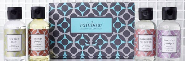 Rainbow cleaning solution collection