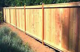 Fixed long fence