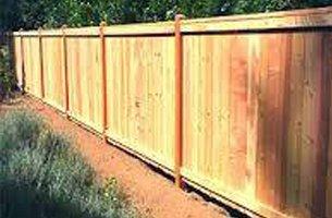 Fixed long fence