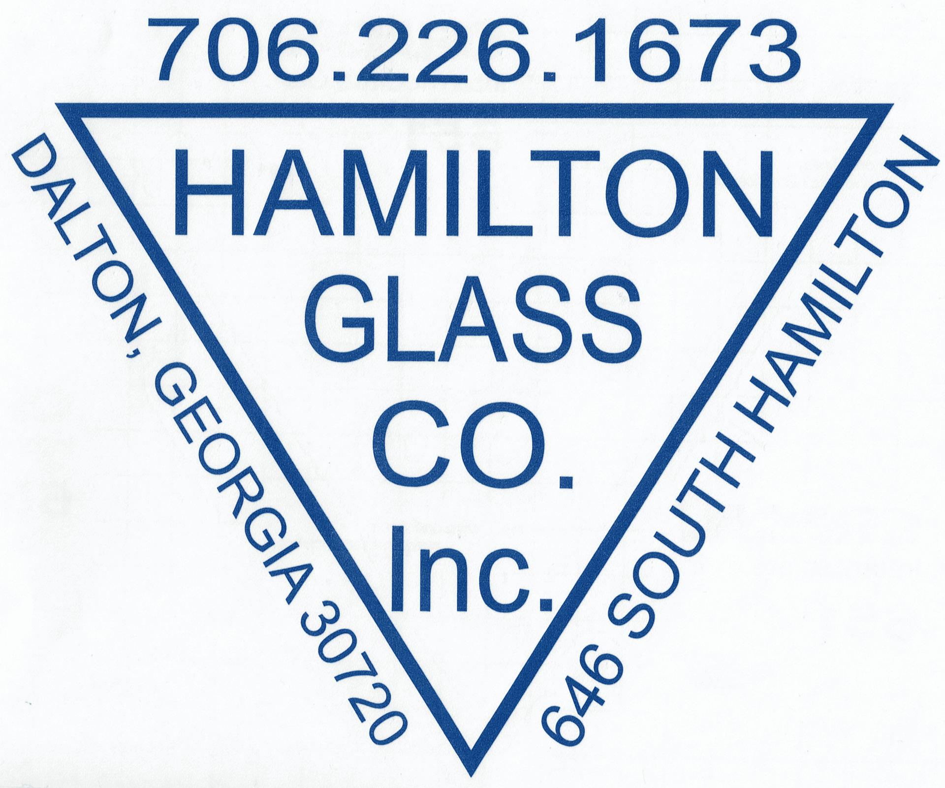 Hamilton Glass Company Inc. Logo