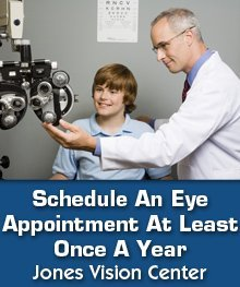 Vision Test - Lansing, MI - Jones Vision Center - Eye Test