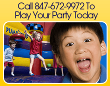 Birthday Party Venue - Gurnee,  IL - Pump It Up Of Gurnee - Birthday Party Venue - Call 847-672-9972 To Play Your Party Today