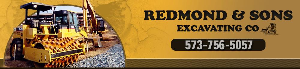 Backhoe Farmington, MO - Redmond & Sons Excavating Co