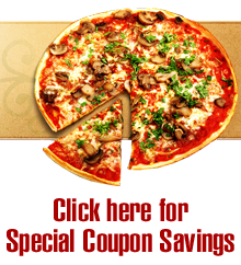 Pizza Restaurant -  Germantown, MD - Manginos - Click here for Special Coupon Savings