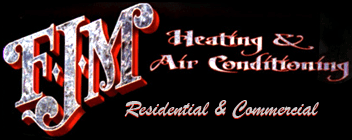 FJM Heating & Air Conditioning - Logo