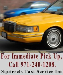 Transportation Services - Dallas, OR - Squirrels Taxi Service Inc