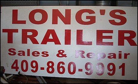 Custom Trailers - Beaumont, TX - Long's Trailer Repair