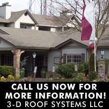 Roofing Contractor - Edmonds, WA - 3-D Roof Systems LLC