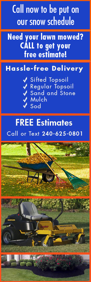 Landscaping - Hagerstown, MD  - T & D Services