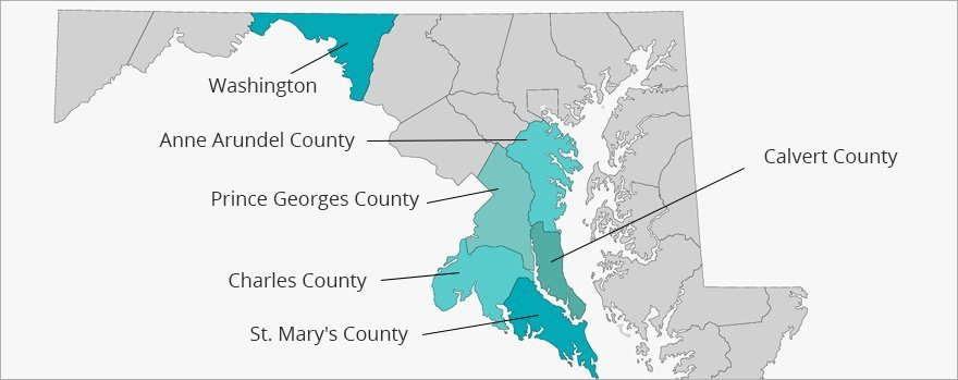ServiceMaster by America's Restoration Service | Service Area Map
