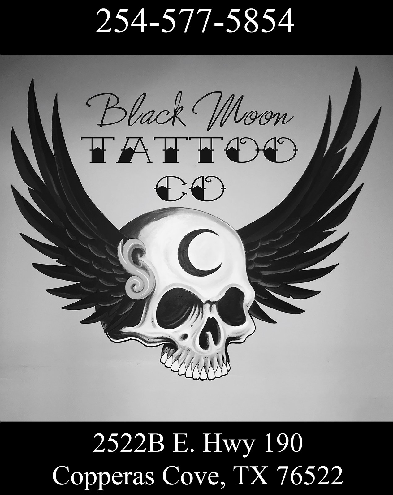 Black Moon Tattoo Company Copperas Cove Texas