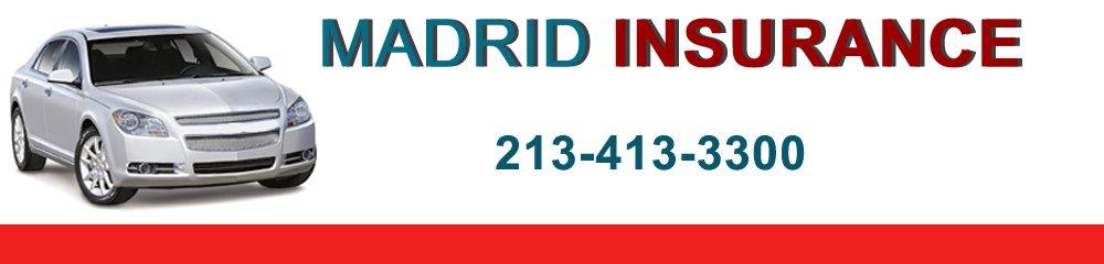 Insurance Company - Los Angeles, CA - Madrid Insurance