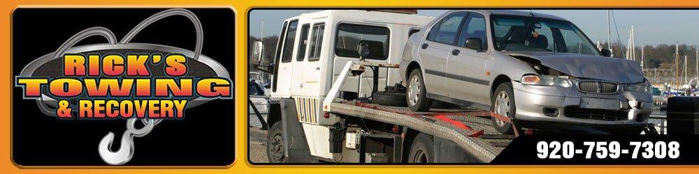 Towing Service Kaukauna,  WI - Rick's Towing & Recovery