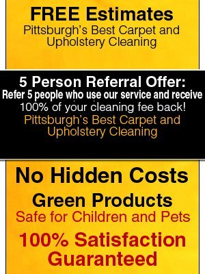 Carpet Cleaning - Pittsburgh, PA - Carpet and Upholstery Cleaners