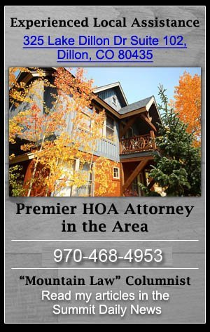 HOA Lawyer, HOA Collections Attorney - Breckenridge, CO - The Klug Law Firm, LLC
