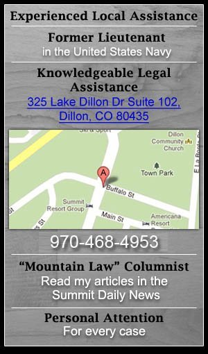 Real Estate Attorney, Lawyer Experience - Breckenridge, CO - The Klug Law Firm, LLC