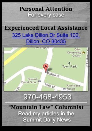 Business Law, Business Attorney - Breckenridge, CO - The Klug Law Firm, LLC