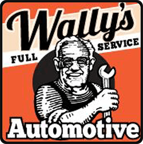 Wally's Full Service Automotive logo