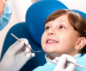 kid dental check up