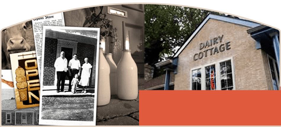 Dairy Cottage history pictures and restaurant