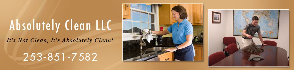 Cleaning Service Gig Harbor, WA - Absolutely Clean LLC
