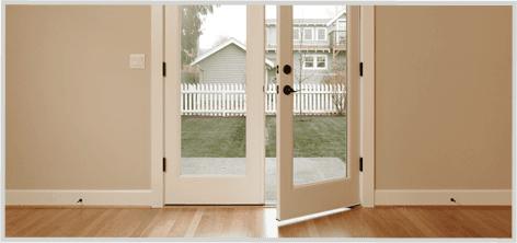 Residential door glass
