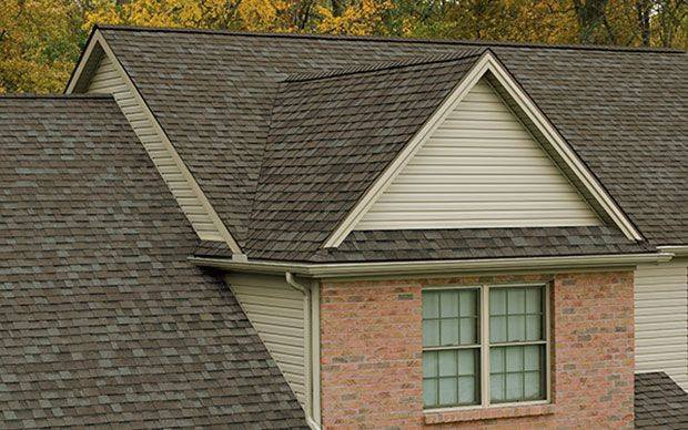 shingles roofing of a residential house