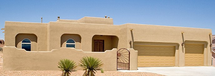 front view of a house in Arizona
