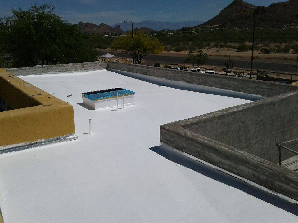 completed roofing service by Durazo's Roofing LLC