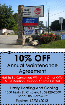 Cooling - Chipley, FL - Hasty Heating & Cooling
