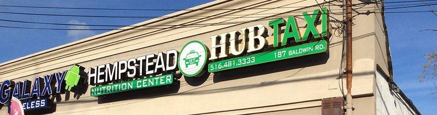 Hub taxi office