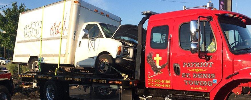 Patriot-St. Denis Towing Truck