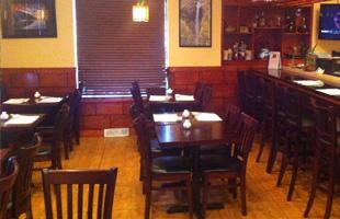 Mizu Sushi's dining area