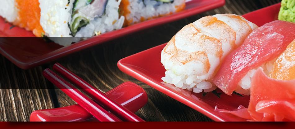 Sashimi on plate