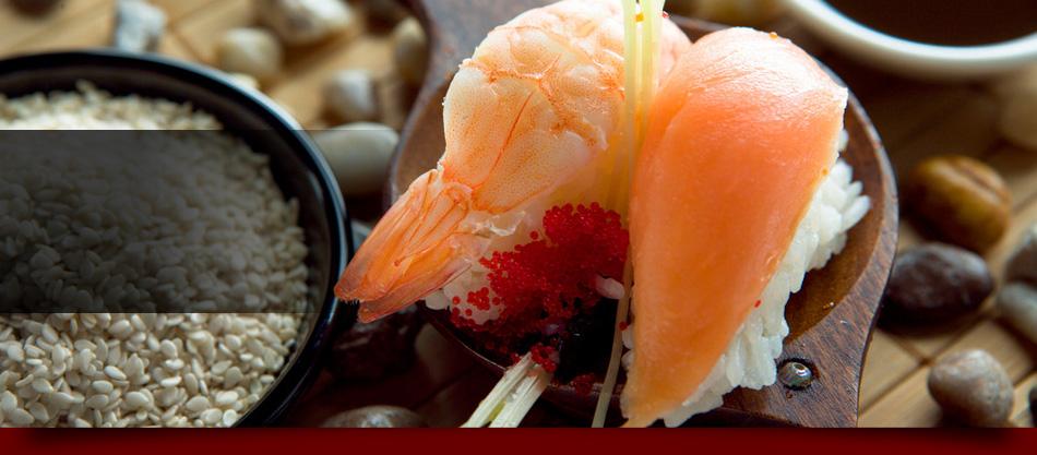 Sushi roll plating