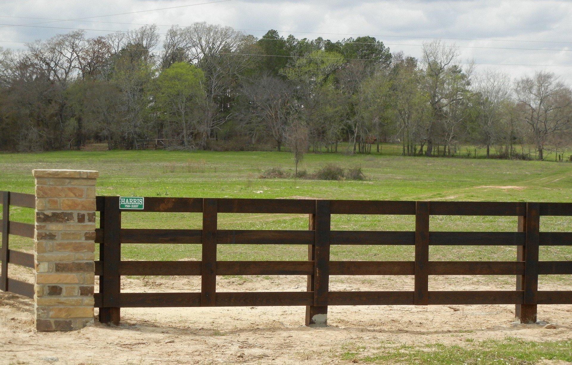 Farm fence Clipart Farm Fencing Acreage Fences Agricultural Fencing Ranch Fencing White Oak Tx