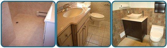 The Water Closet - Tile Backsplashes and Floors - Brick, NJ