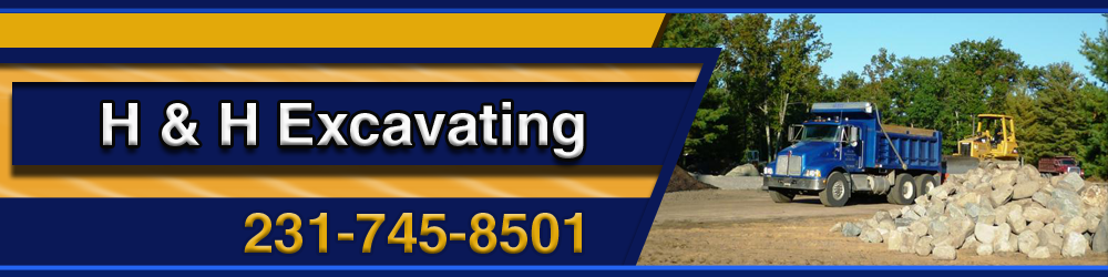 Excavation Baldwin, MI - H & H Excavating 231-745-8501