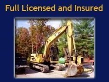 Excavation - Baldwin, MI - H & H Excavating - Backhoe - Full Licensed and Insured