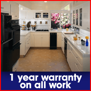Contracting - Toledo, OH  - All American Construction & Plumbing - kitchen remodelling - 1 year warranty on all work