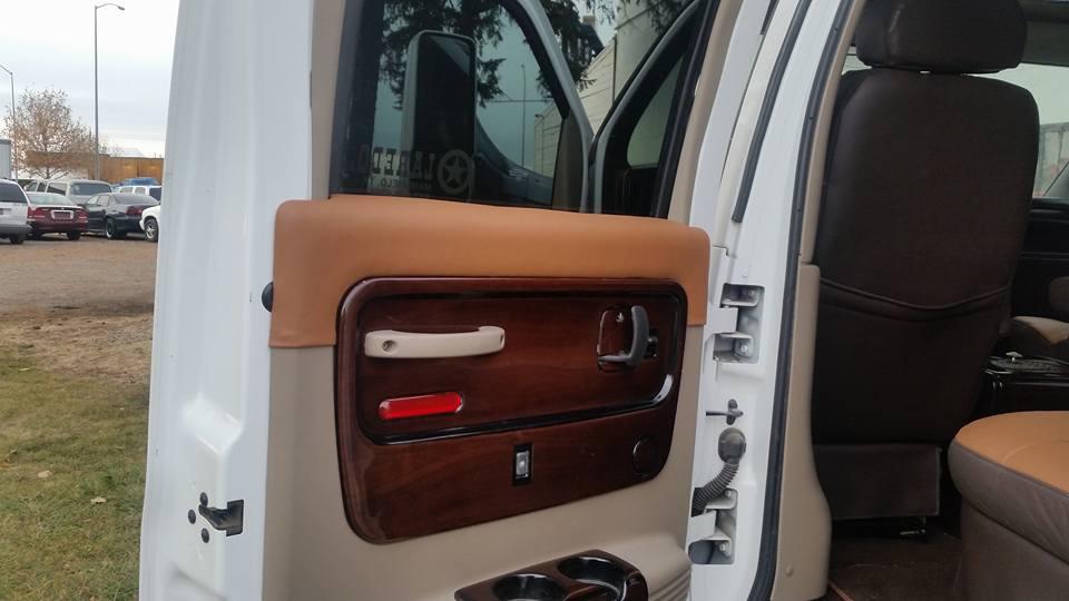 Truck upholstery